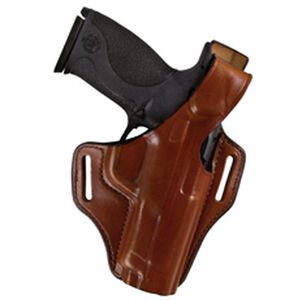 "Bianchi #56 Serpent Holster SZ22A Ruger LCR .38 Special (1.875"") Right Hand Plain Tan Leather"
