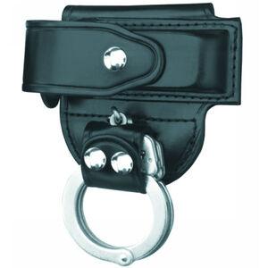 Gould & Goodrich Magazine Case/Handcuff Holder Leather Hi-Gloss Finish Black