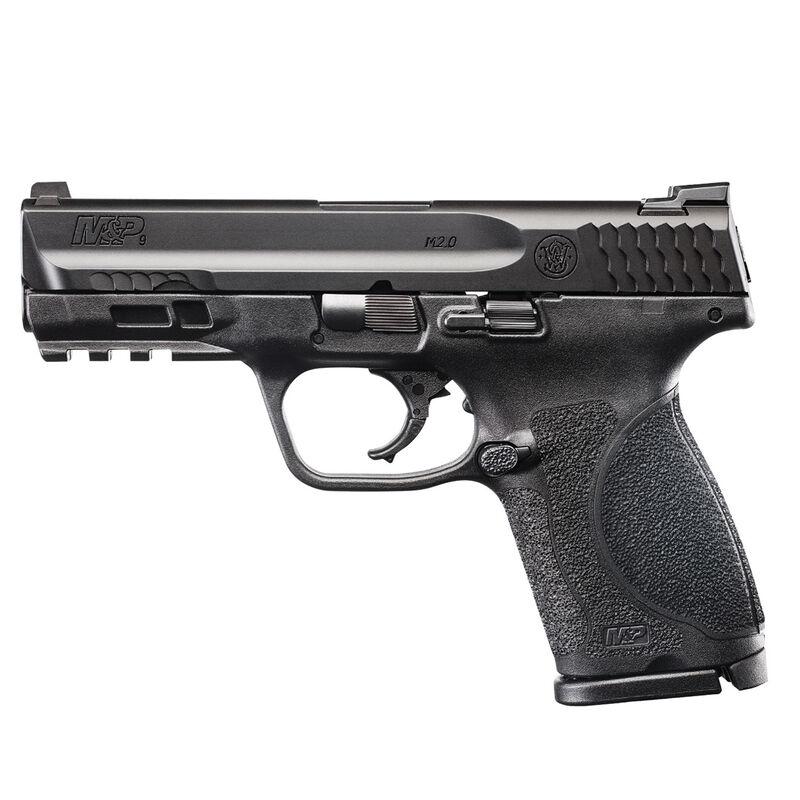 "S&W M&P9 M2.0 9mm 4"" Compact Semi Auto Pistol 9mm Luger 4"" Barrel 15 Rounds No Thumb Safety Matte Black"