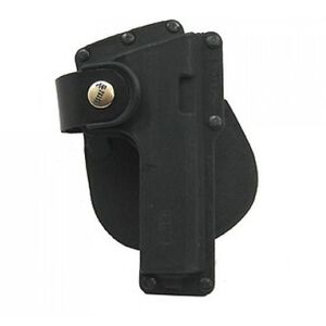 Fobus GLT GLOCK 19, 23, 32 Tactical Speed Paddle Holster Right Hand Polymer Black GLT19