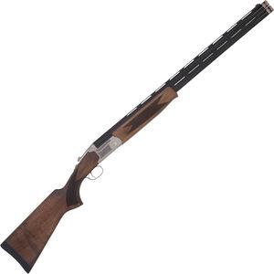 """TriStar Trap TT-15 Field 12 Gauge O/U Double Barrel Shotgun 28"""" Barrels 3"""" Chambers FO Front Sight Walnut Stock Silver/Blued Finish"""