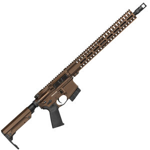 "CMMG Resolute 300 Mk4 .350 Legend AR-15 Semi Auto Rifle 16"" Barrel 10 Rounds RML15 M-LOK Hand Guard RipStock Collapsible Stock Midnight Bronze"