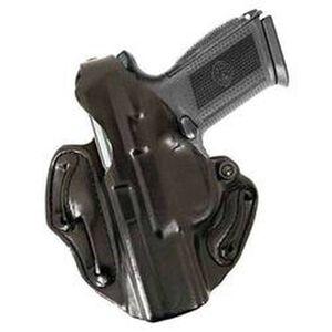 DeSantis Thumb Break Scabbard Belt Holster For GLOCK 19/23/32 Left Hand Leather Black 001BBB6Z0