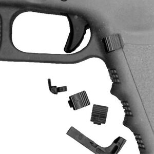 Ghost Inc. Lo-Pro Magazine Release For Gen 3 GLOCK 9/40/357 Polymer Black GHO-LOPRO