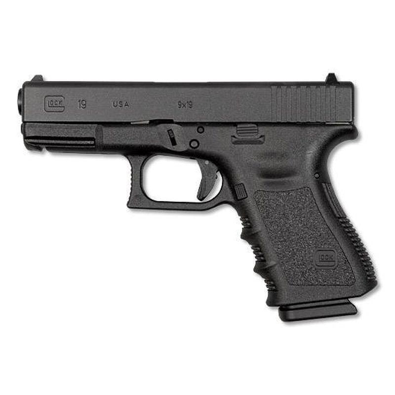 "GLOCK 19 Gen 3 9mm Semi Auto Pistol, 4.01"" Barrel 15 Rounds, Black"