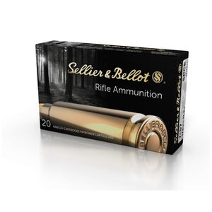 Sellier & Bellot 7x57mm Mauser Ammunition 20 Rounds SPCE 173 Grains SB757C