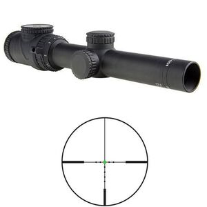 Trijicon AccuPoint 1-6x24 Riflescope MOA Dot Crosshair with Green Dot 30mm Tube TR25-C-200089