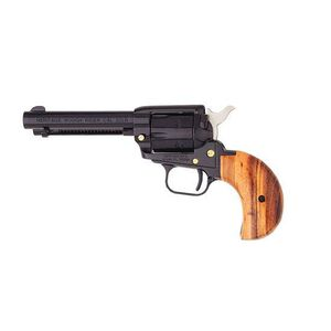 """Heritage Manufacturing Rough Rider Single Action Revolver .22 LR/.22 Magnum 4.75"""" Barrel 6 rounds Cocobolo Bird's Head Grip Blued RR22MB4BH"""