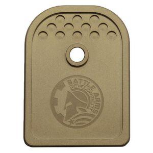Battle Arms Development Magazine Baseplate for Glock 9mm Flat Dark Earth