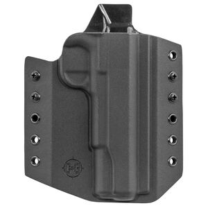 """C&G Holsters Covert OWB Holster for Colt 1911 5"""" Government Right Hand Draw Kydex Black"""