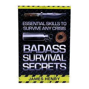 Proforce Equipment Books Badass Survival Secrets