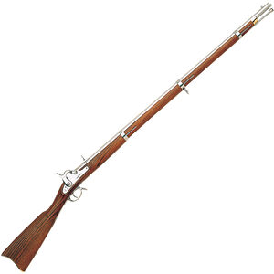 "Chiappa Firearms Reproduction 1862 Richmond Percussion Black Powder Musket .58 Caliber 40"" Rifled Barrel 1 Round Oiled Walnut Wood Stock Polished In The White Finish 910-001"