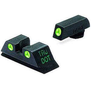 Mako Group Meprolight Tru-Dot Night Sight GLOCK 42 Green Tritium Enhanced Black