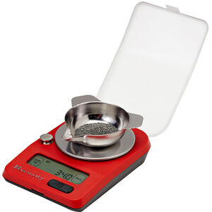 Hornady G3-1500 Electronic Scale Compact 1/10 Grain Accuracy AAA Battery Red 050104