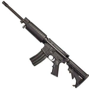 "Windham Weaponry SRC AR-15 Semi Auto Rifle .300 AAC Blackout 16"" Barrel 30 Rounds Flat Top Upper Receiver Polymer Handguards A2 Pistol Grip 6 Position Telescoping Buttstock Matte Black R16FTT-300"