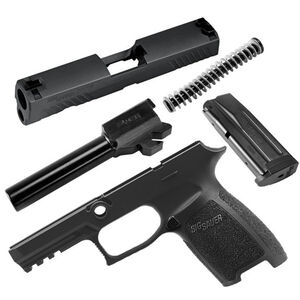 SIG Sauer P320 Carry Caliber X-Change Kit 9mm Luger 17 Rounds 3 Dot Sights Nitron Finish Matte Black
