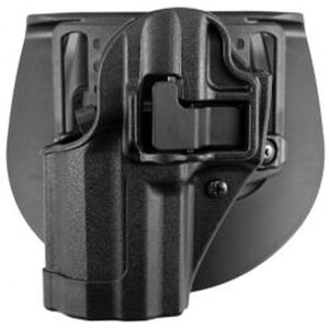 BLACKHAWK! SERPA CQC GLOCK 42 Holster Left Hand Black Matte Finish 410567BK-L