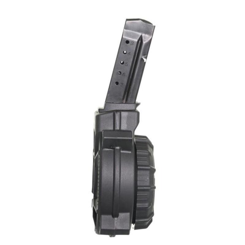 ProMag S&W Shield 9mm 50 Round Drum Magazine BLACK Polymer DRM-A15