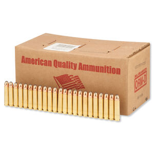 American Quality .30 Carbine Ammunition 250 Rounds PSP 110 Grains N30110PSPVP250