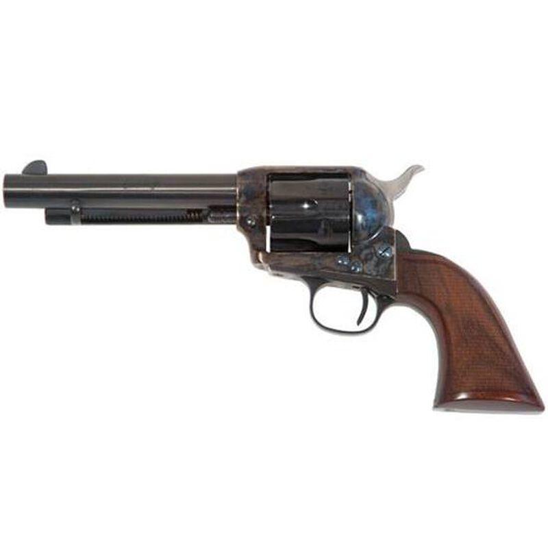 "Cimarron Evil Roy Comp Single Action Revolver .45 LC 5.5"" Barrel 6 Rounds Gunfighter Thin Walnut Grips Blue Finish ER4101"