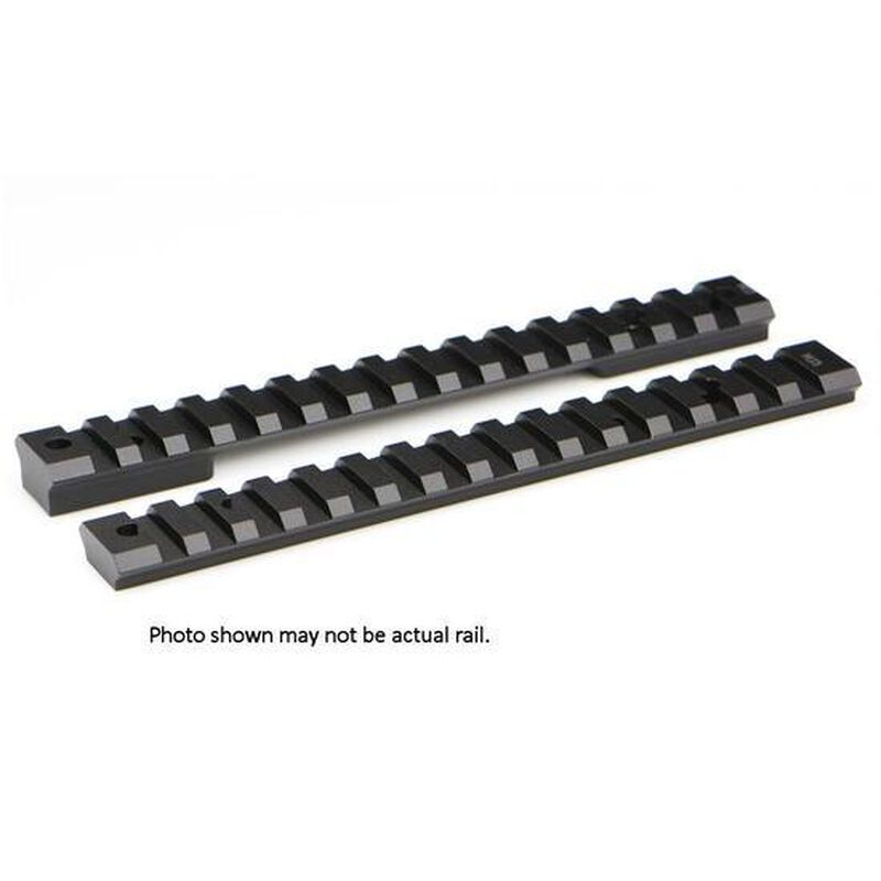 Warne Mountain Tech One Piece Picatinny/Weaver Style Scope Base 20 MOA Winchester XPR Long Action Aluminum Matte Black