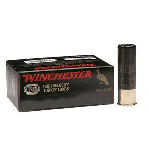 """Winchester Double X Turkey Load 10 Gauge Ammunition 10 Rounds 3.5"""" #5 Plated Shot 2 Ounces STH105"""