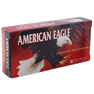 Federal American Eagle .300 Blackout Ammunition 20 Rounds FMJ 150 Grains AE300BLK1