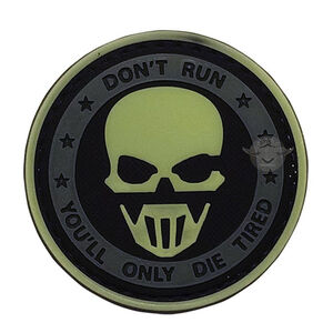 5ive Star Gear PVC Morale Patch Don't Run Ghost