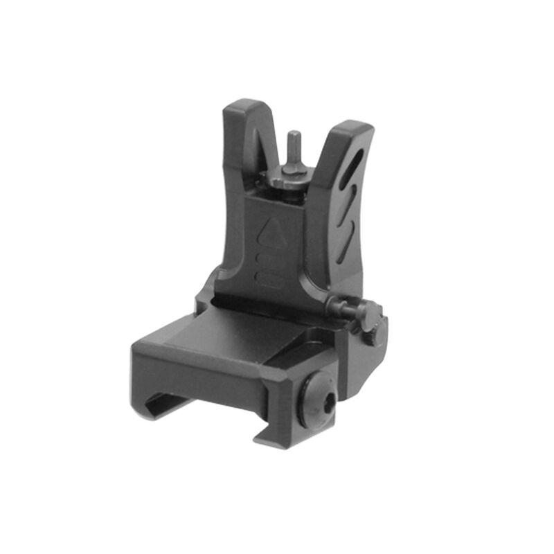 UTG Model 4 Low Profile Flip-up Front Sight for Handguard Black MNT-755