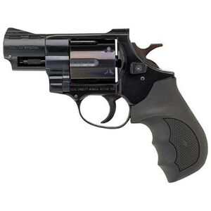 "EAA Windicator Revolver .357 Magnum 2"" Barrel 6 Rounds Rubber Grips Steel Frame Blue Finish 770130"