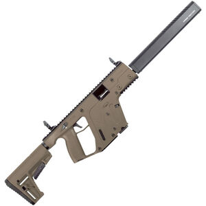 "Kriss USA Kriss Vector Gen II CRB 9mm Luger Semi Auto Rifle 16"" Barrel 17 Rounds Kriss M4 Stock Adapter/Defiance M4 Stock Flat Dark Earth Finish"