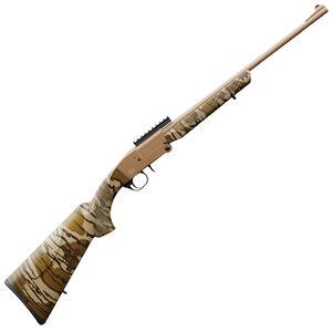 "Charles Daly 101 Single Barrel Break Action Shotgun .410 Bore 20"" Barrel 3"" Chamber 1 Round Extractor Mossy Oak Bottomland Stock FDE"