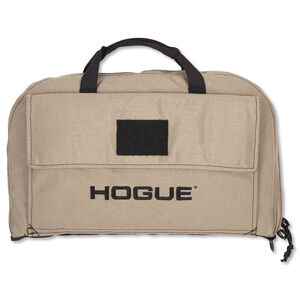 Hogue Gear Large Pistol Bag Front Pocket 6 Magazine Pouch Nylon FDE 59263