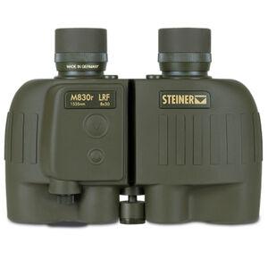 Steiner M830R LRF Laser Rangefinder 8x 30mm Tactical Binoculars SUMR Reticle Floating Prism FOV Green Rubber Armor 2681