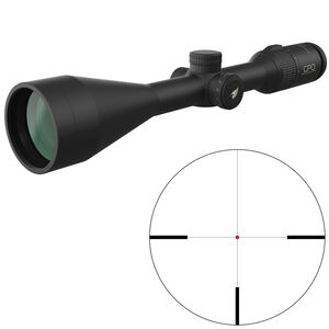 "GPO Passion 3x 4-12x50i Riflescope German #4 Illuminated Reticle 1"" Tube .25 MOA Adjustments Fixed Parallax Black"