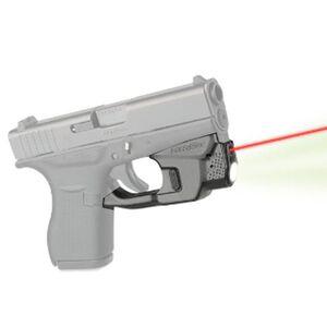 LaserMax Centerfire Light/Laser Sight System 100 Lumen Light/Red Laser GLOCK 42/43 Polymer Matte Black