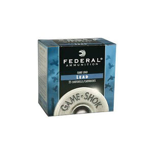"Federal Game-Shok 12 Gauge Ammunition 25 Rounds 2.75"" 1oz. #6 Shot 1,290 Feet Per Second"