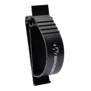 Walkers Earmuff/Hearing Protection Holder Belt Clip Polymer Matte Black