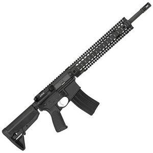 """BCM Recce-16 Carbine AR-15 5.56 NATO Semi Auto Rifle 16"""" Barrel 30 Round Magazine Quad Rail Free Float Hand Guard Carbine Stock Matte Black"""