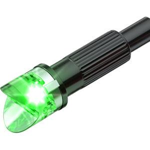 Clean Shot Nock Out Lighted Crossbow Bolt Nocks LED 3 Pack Green