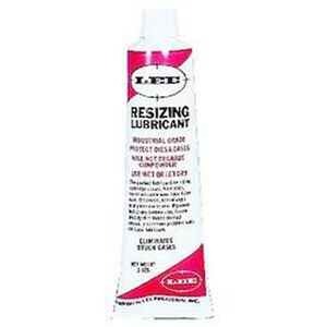 Lee Precision Resizing Lube, Non Sticky Non Allergenic Two Ounce Tube