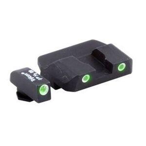 Ameriglo Tritium Pro Operator Set Green/Green GLOCK
