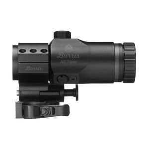 Burris AR-Tripler 3x Magnifier 30mm Tube with AR-Quick Detach Pivot Mount Extra High Height Matte Black