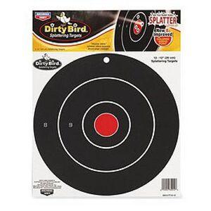 "Birchwood Casey 12"" Bullseye Dirty Bird Targets 12 Pack"