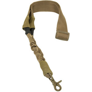 NcSTAR Single Point Sling Bungee Cord Adjustable Synthetic Fabric Tan