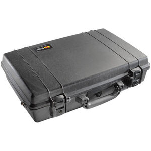Pelican Protector Deluxe Equipment Case Waterproof Double Locking Latch Black 1490