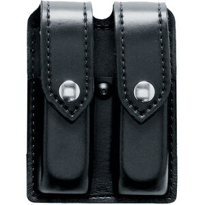 Safariland 77 Double Magazine Pouch Fits HK VP9 Black Snaps Hardshell STX Tactical Black
