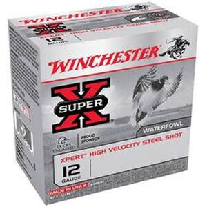 """Winchester Super X Game & Target 12 Gauge Ammunition 2-3/4"""" #7 Steel Shot 1-1/8 oz 1280 fps"""
