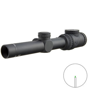 Trijicon AccuPoint 1-6x24 Scope Triangle Post Green Illuminated Reticle MOA Adjustment 30mm Tube Black
