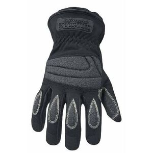Ringers Gloves Extrication Short Cuff Gloves Armortex Extra Large Black